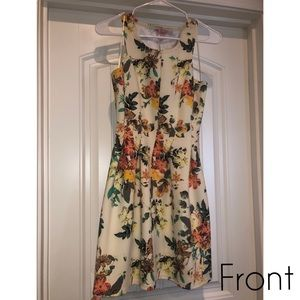 Floral Dress by Candie's size Small